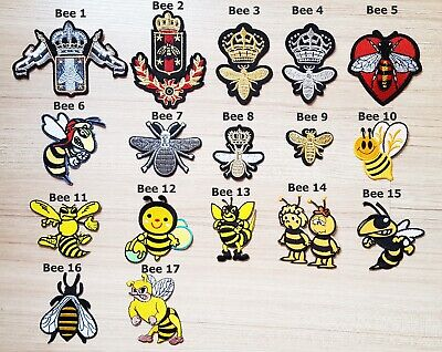 Gold Crown Imperial King Queen BEE Insect Bugs Cartoon Kids Patch for - King Crown For Kids