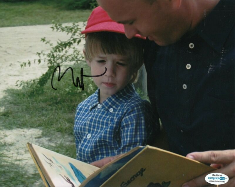 HALEY JOEL OSMENT signed (FORREST GUMP) 8X10 photo ACOA Authenticated #2