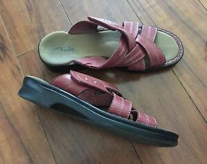 Two pairs of Clarks leather sandals - $10 takes both