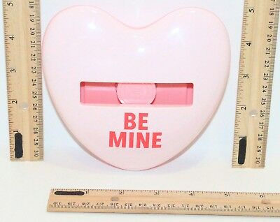 Be Mine Post-it Heart Shape - Imprint Dispenser Holder For 3x3 Note Pads Hd330