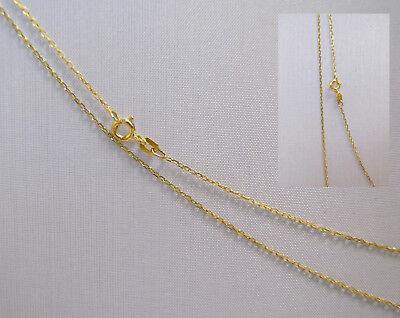 Neuware 585 echt Goldkette Top Anker Design Baby Kinder 14 Karat Gold Kette 36cm