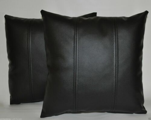100% Lambskin Leather Pillow Cover Decorative Home Office Cushion Cover-