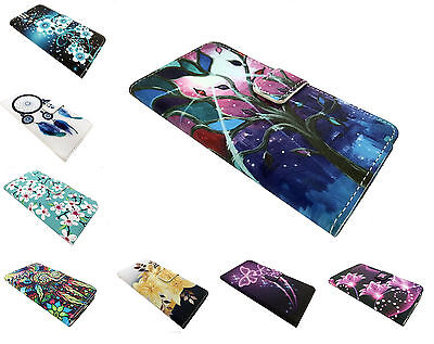 Wallet Credit Card Pouch Cover Phone Case For Zte Zmax One Lte Z719dl