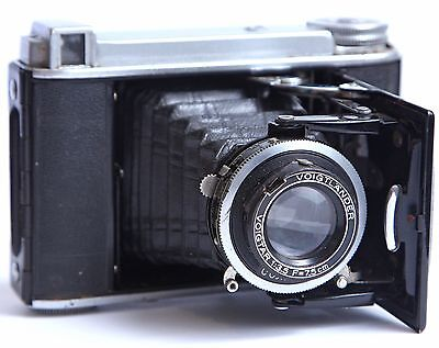 Voigtlander Bessa 46 120 Folding Camera Optical Viewfinder 75mm f3.5 Lens