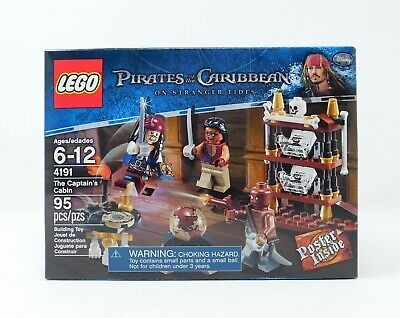 NEW  LEGO Pirates of the Caribbean  THE CAPTAIN'S CABIN  #4191  Factory sealed