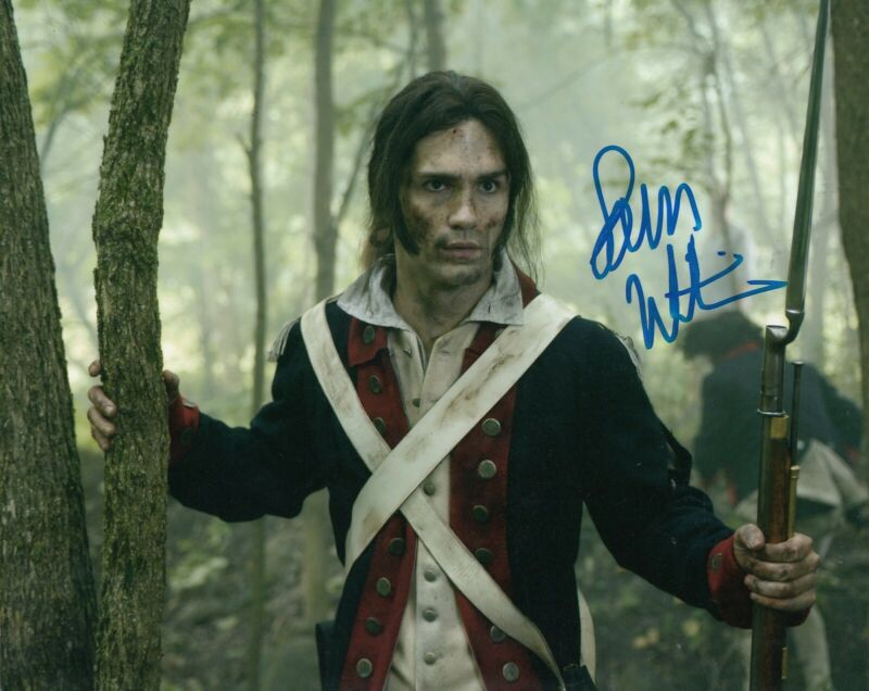 SAM WITWER signed (ONCE UPON A TIME) TV Show 8X10 *Mr. Hyde* photo W/COA #2
