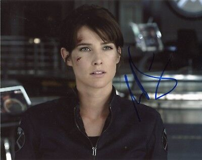 Cobie Smulders Authentic Hand Signed  Maria Hill   Avengers  8X10 Photo B