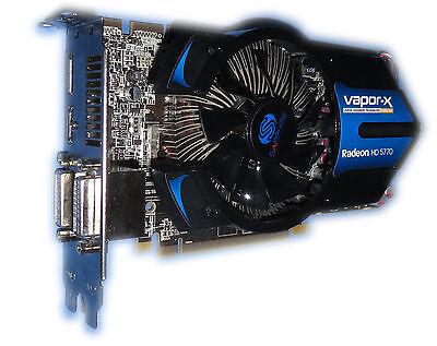 ATI Grafikkarte Radeon HD 5770 Vapor-X OC 1GB PCIe für PC/Mac Pro 1.1/5.1 #70