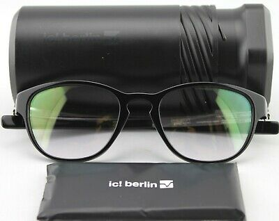 IC! Berlin Linearity (Chrome) optical frame Anti-reflective demo lens (Berlin Optical)