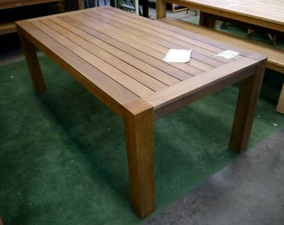 New Chunky 2 Meter Outdoor Furniture Dining Table