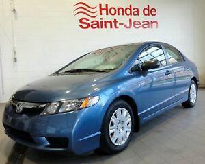 Honda Civic Sdn 4 portes, boîte manuelle, DX