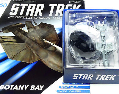 STAR TREK EAGLEMOSS STARSHIP COLLECTION SS BOTANY BAY DY-100 CLASS AUSGABE #60