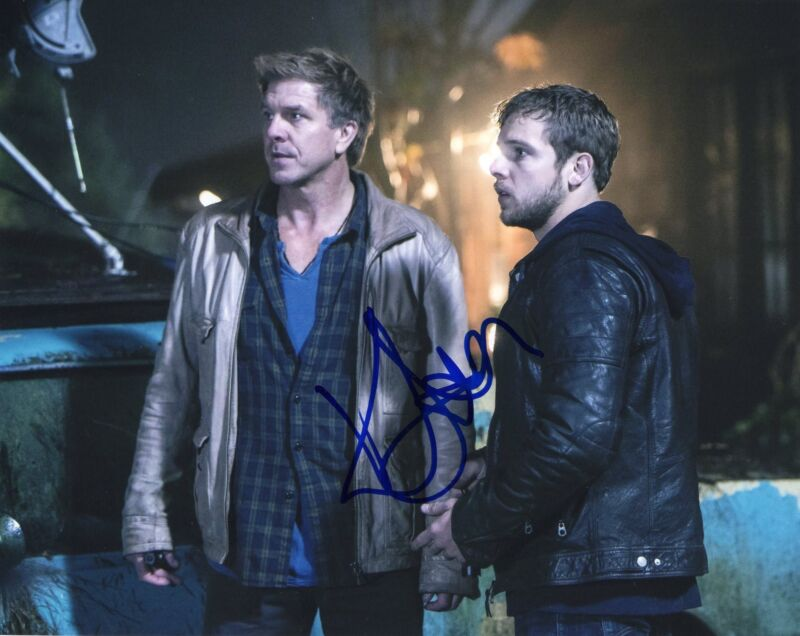 Kenny Johnson Sons of Anarchy The Shield Signed 8x10 Photo w/COA #3