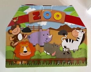 27 Pce Wooden Zoo Animal Set Boxed Cowaramup Margaret River Area Preview