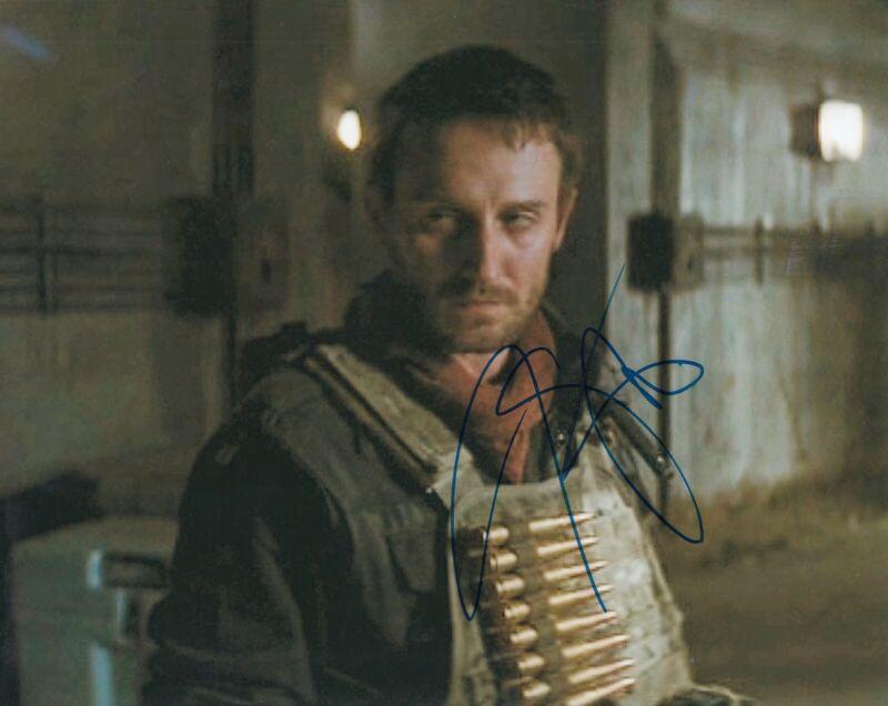 JOSH STEWART signed (BATMAN THE DARK KNIGHT RISES) 8X10 photo *BARSAD* W/COA #3