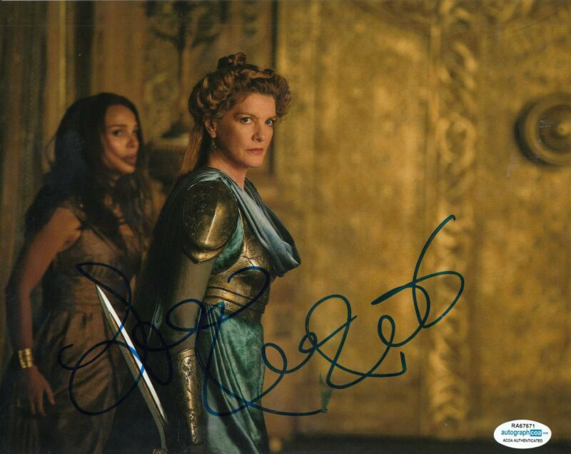 Rene Russo Authentic Signed 8x10 Studio Photo Autographed Autographs-original Photographs