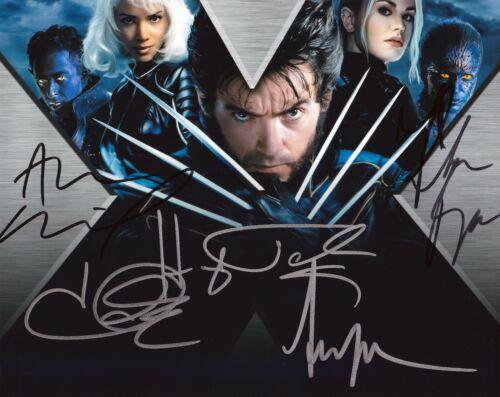 Xmen Cast autographed 8x10 photograph RP