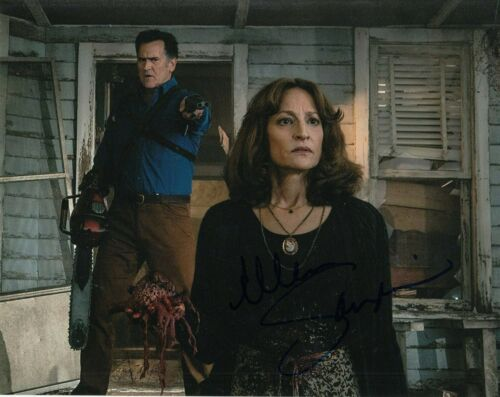 ELLEN SANDWEISS signed (ASH VS EVIL DEAD) Horror Movie 8X10 photo CHERYL W/COA B