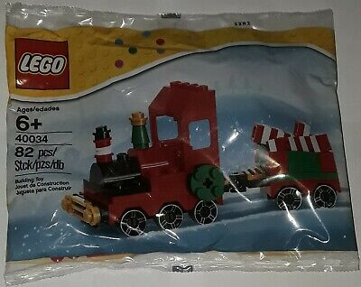 LEGO 40034 Seasonal Christmas Train new unopened polybag 82 pieces