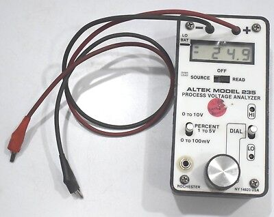 Altek 235 Voltage Calibrator Process Voltage Analyzer