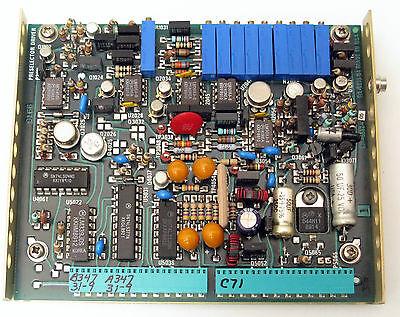 Tektronix 670-5552-05 Preselector Driver Board A42 494a 494ap Working Warranty