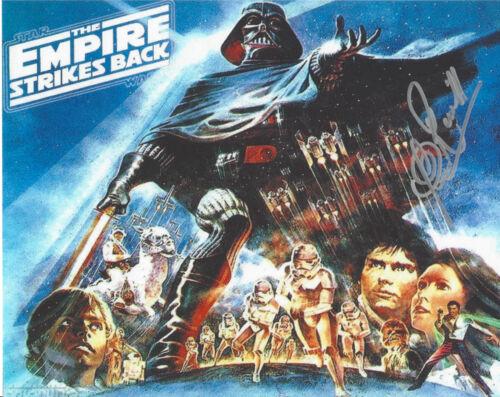 CLIVE REVILL SIGNED 'STAR WARS V: EMPIRE STRIKES BACK' EMPEROR 8X10 PHOTO COA