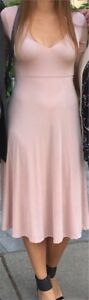 Long Blush Pink Dress from Nordstrom