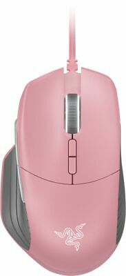 Razer - Basilisk Quartz Pink Edition Wired Optical Gaming Mouse with Chroma L... (Crystal Computer Mouse)
