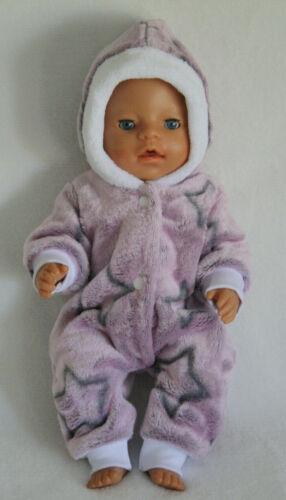 Puppenkleidung * Baby Born * 43 cm * Winteroverall * NEU * (ohne Puppe)