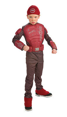 Special Forces Soldier Military Red Combat Dress Up Halloween DLX Child Costume - Kids Soldier Dress Up