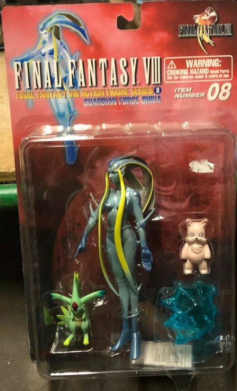 Final Fantasy 8 Guardian Force Shiva with Ragnarok Carbuncle Comogri set (mn44)