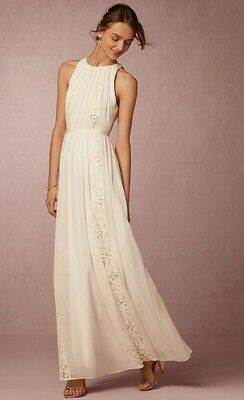 - NEW $295 BHLDN Bailey 44 Chandler Dress Wedding Gown Size XS Rehersal Honeymoon