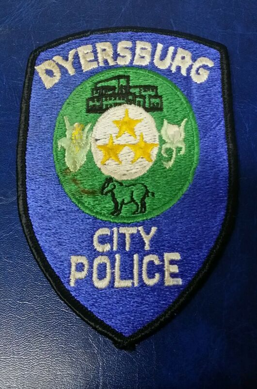 DYERSBURG, TENNESSEE CITY POLICE SHOULDER PATCH TN