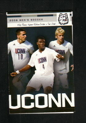 Connecticut Huskies  2009 Soccer Pocket Schedule  Peoples United Bank