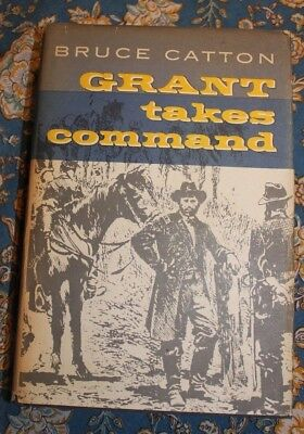 1969 Grant Takes Command Bruce Catton First Edition - HCDJ -      LOTAVR