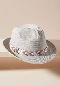 40ec5bff67cfa0 NWT Genie Eugenia Kim for Anthropologie Edie Fedora Hat in Gray
