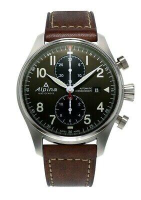 Alpina Startimer Pilot Men's Automatic Chronograph 44mm Watch AL-725GR4S6