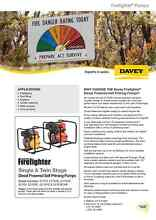 5270YE DIESEL DAVEY FIREFIGHTER PUMP Evandale Norwood Area Preview