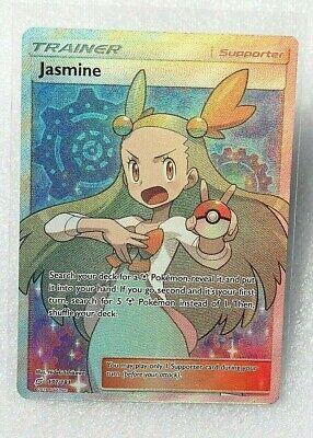Pokemon Card TCG Trainer Jasmine (Full Art) SM - Team Up 177 / Ultra Rare