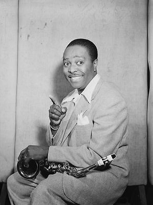 Louis Jordan Big Band Jazz Player Photograph Photo Music Print Poster A4