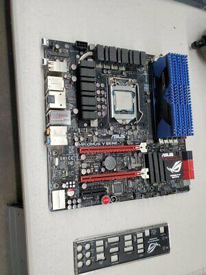 ASUS MAXIMUS V GENE Motherboard & i7-3770K processor & 32G  HYPER-X Mem & SSD