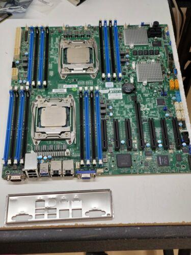 Supermicro X10DRH-C MotherboardDual 2011-3 for v3/v4 E5, LSI Hardware SAS3 RAID