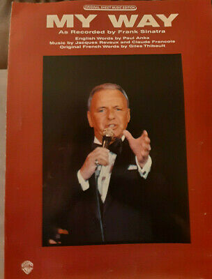 "FRANK SINATRA /""I CAN/'T BELIEVE I/'M LOSING YOU/"" SHEET MUSIC RARE-1967-NEW ON SALE"