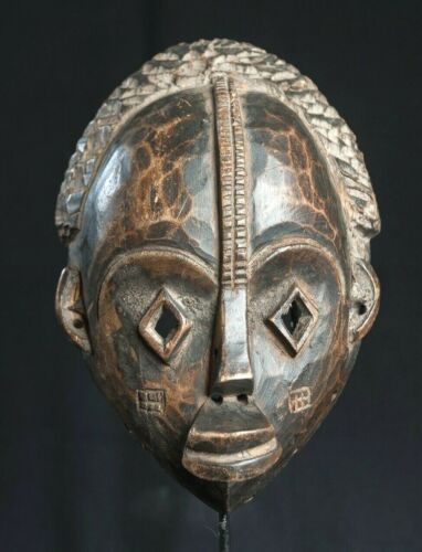 Igbo Face Mask, Nigeria, African Tribal Arts, African Masks