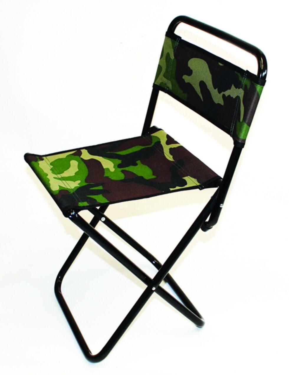 Grandeslam Camo Folding Fishing Chair Fold Flat Fishing
