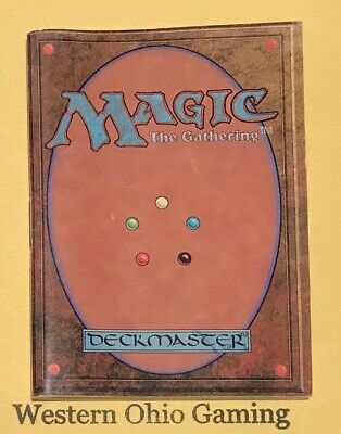 MTG Magic Forth Edition Rulebook from Starter Pack USED 4th Rule Book