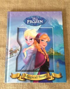 New-Disney-Frozen-Elsa-Anna-Magical-Story-Hardcover-Book-Australian-Seller