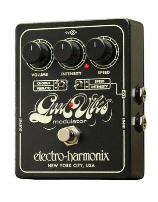 EHX Electro Harmonix Good Vibes Analog Modulator Guitar Effects Pedal