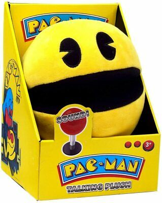 Master Toys Pac-Man Talking Plush - Original Arcade Sounds