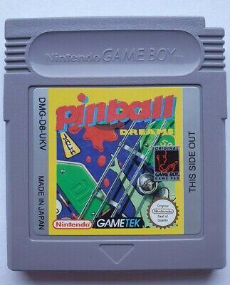 Pinball Dreams Nintendo Game boy Cartridge only